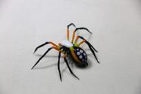 玻璃工艺品黄足蜘蛛