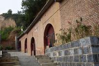 红砖箍门窑洞建筑图