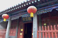 珈蓝殿寺庙建筑摄影