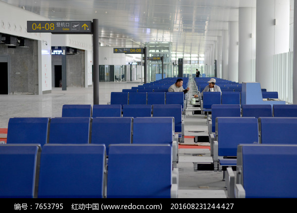 柳州白莲飞机场候机大厅