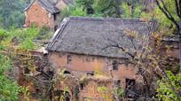 农村瓦房建筑摄影