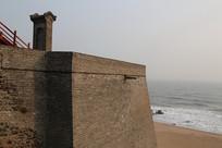 青砖长城墙
