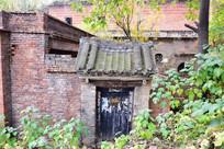 豫东红砖老房子图片