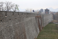 天下第一关山海关城墙外景