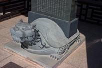 驮碑赑屃雕刻