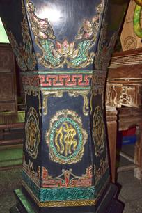 古典色调雕漆装饰