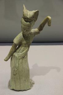 隋朝舞蹈女俑