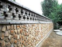 创意的老式围墙图片
