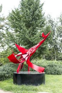凤凰来仪艺术雕塑