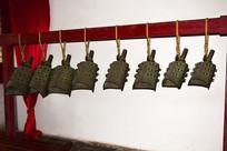 古代编钟文物展示