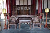 古典风格家具摆设