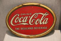 老式可口可乐广告牌
