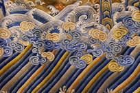 龙袍海水纹