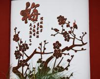 梅花-中国元素雕刻