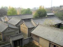 农村的老式建筑群