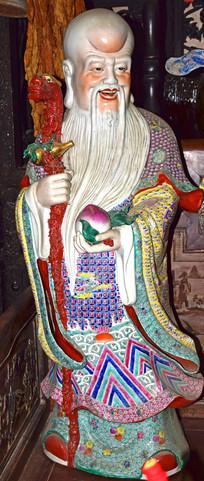 寿星-福禄寿三星雕塑
