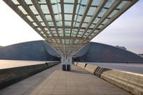天津自然博物馆凉亭