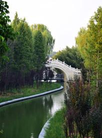 小桥流水公园景观