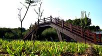 园林木桥设计图片