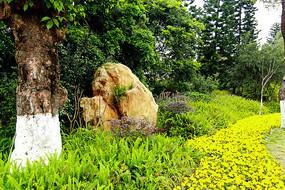 广州海珠湖公园景观造型