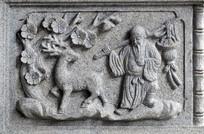 古代人物浮雕图片