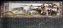 古典墙壁字画