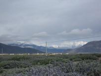 美丽的山脉风景图片