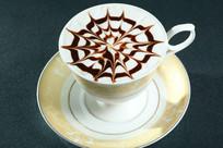 摩卡拉花咖啡