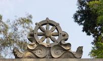 屋顶花型船舵雕刻