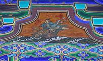 蓝采和-八仙人物绘画