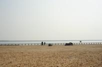 上海城市沙滩