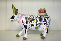 生日牛雕塑
