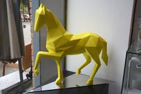 现代雕塑骏马