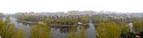 滨河小区建筑全景图