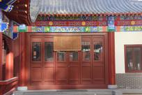 传统建筑木门