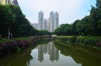 美丽的江河风景图片