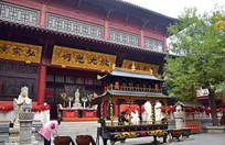 寺庙建筑摄影图