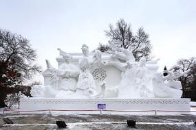 雪雕西厢记