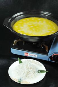 银鱼肉圆火锅