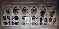 中国结样式窗格木雕