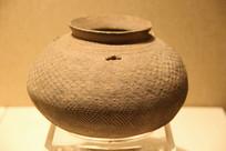 春秋网格碗陶罐