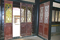 古建筑中的木质门窗