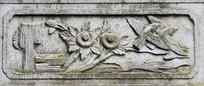 花鸟雕刻图案