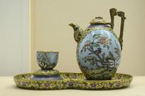 民国景泰蓝茶具