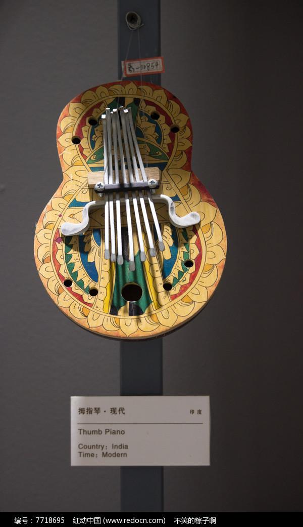 拇指琴图片,高清大图_乐器素材
