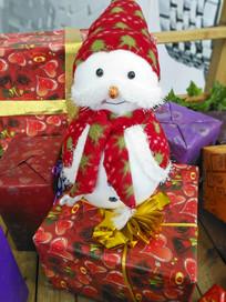 圣诞卡通雪人