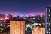 城市夜景高楼大厦
