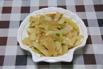 清炒萝卜片