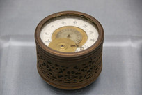 清代鎏金铜钟