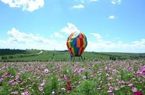花海热气球